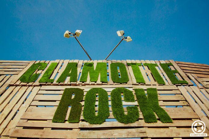 Clamotte Rock vindt plaats in het Hemelvaartweekend