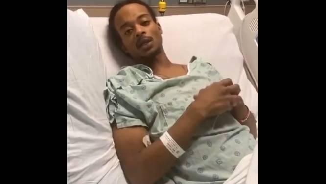 Jacob Blake, die 7 keer beschoten werd, vanuit ziekenhuisbed: 'Je wilt dit niet meemaken'