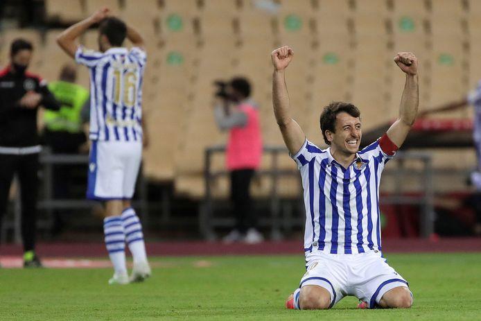 Matchwinnaar Oyarzabal.