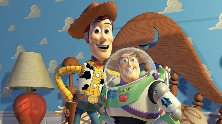 Al bij het maken van Toy Story (foto) gebruikte Pixar recente studies naar verfijnde gezichtsuitdrukkingen. Beeld Pixar