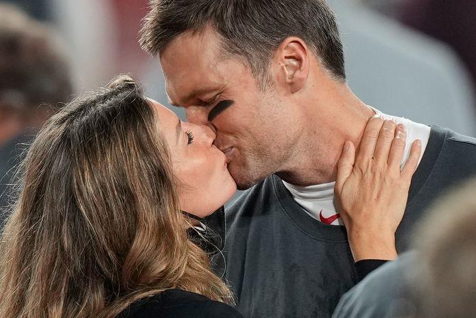 Tom Brady en Gisele Bündchen.