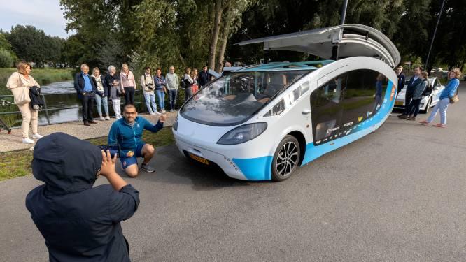 Eindhovense 'zonnecamper' Stella Vita begint 3000 kilometer lange reis op trailer: 'Jammer, maar de veiligheid van de bestuurders staat voorop'