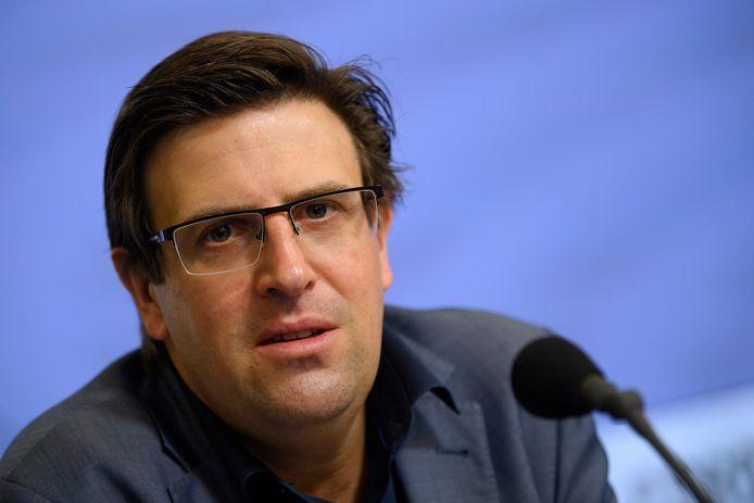 Yves Stevens, porte-parole du Centre de crise.