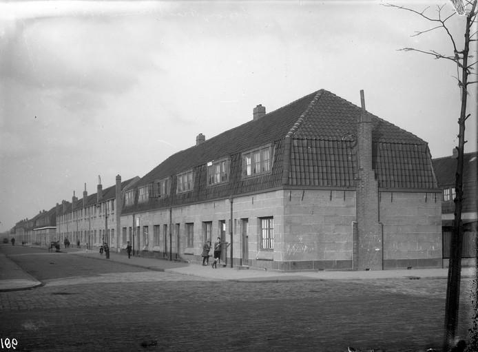 Grijs beton in 1929.