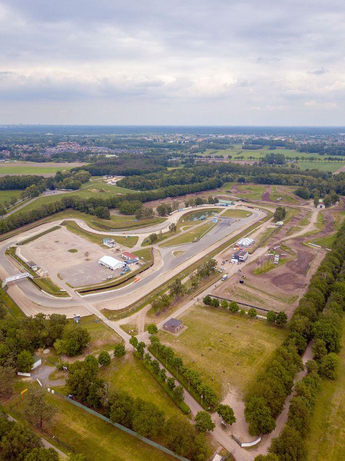 Het Eurocircuit, thuishaven van tal van verenigingen, maar met de rallycrossers en de motorcrossers als belangrijkste 'bewoners'.