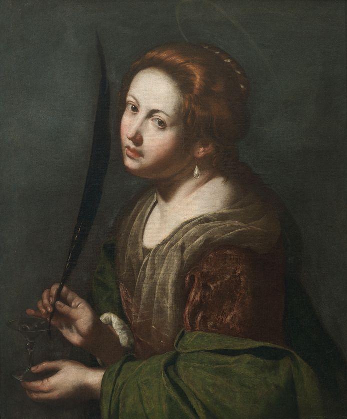 Artemisia Gentileschi, Jaël en Sisera, 1620, Museum of Fine Arts, Budapest Artemisia Gentileschi, Santa Lucia, 1636-38, Privé verzameling