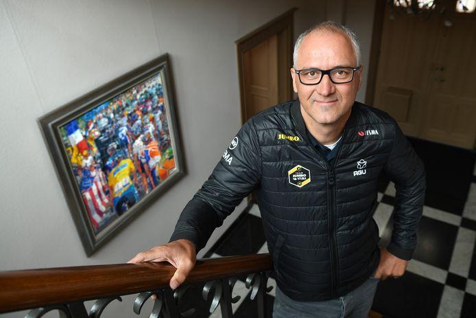 Arthur van Dongen: 'Het is even van de snelweg af zijn, maar de Tour komt er ook al weer aan.'