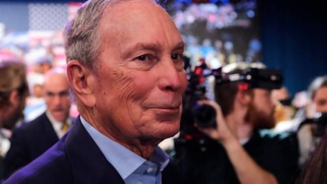 Miljardair Bloomberg steunt Biden in Florida met 100 miljoen