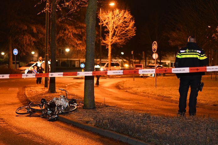 De plek in Montfoort waar de 16-jarige uit IJsselstein werd neergestoken.
