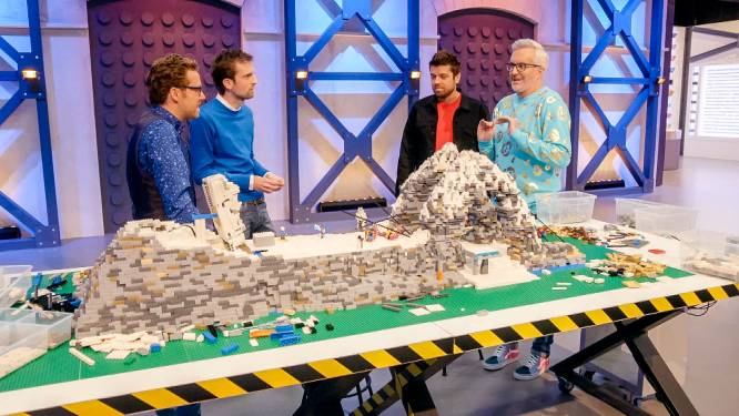 Verrassing voor de kandidaten van 'LEGO Masters' vlak voor de finale