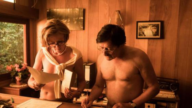 Een beeld uit de film 'De Patrick', die zich afspeelt op een naturistencamping. Beeld Savage Film