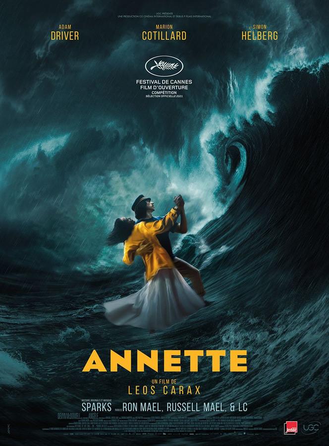 """L'affiche du film """"Annette""""."""
