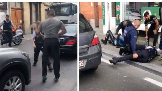 Politie aangevallen met krik, drie agenten zwaargewond, één ervan loopt hersenschudding op