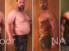 Jeremiah tovert zijn papperige lichaam in vijf maanden tijd om met ketodieet en veel sporten
