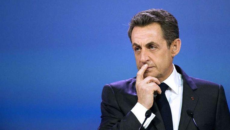 De voormalige Franse president Sarkozy. Beeld afp