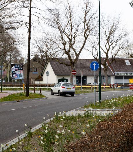Burgemeester Uijenstraat in Waalre ziet sluipverkeer tijdelijk terugkeren: 'Ik werd weer vroeg wakker door auto's'