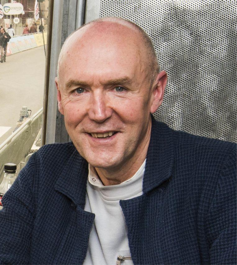 Michel Wuyts: 'José De Cauwer en ik zullen elkaar ophitsen, zelfs op 1.000 kilometer van de renners.' Beeld