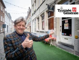 Tournée générale: acteur Door Van Boeckel twijfelt tussen cava en gemberthee op terras van 't Goed Voorbeeld