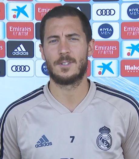 """Eden Hazard: """"J'espère être prêt pour le prochain match"""""""