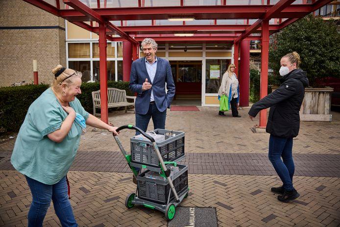 Ben de Koning, directeur-bestuurder van de Frankelandgroep, is altijd in voor een geintje.