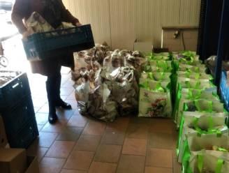 Extra voedselpakket voor 153 gezinnen dankzij stad Izegem en De Stamper