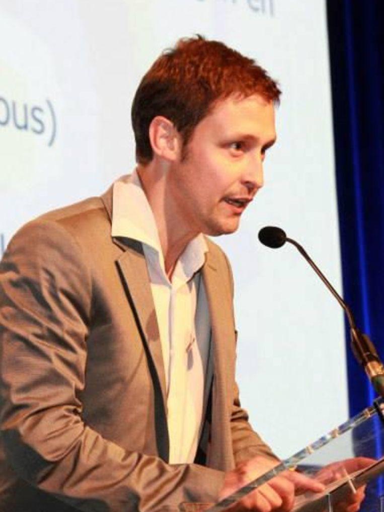 Frederic Vanhauwaert, algemeen coördinator van het Vlaamse Netwerk tegen Armoede Beeld Facebook / Frederic Vanhauwaert