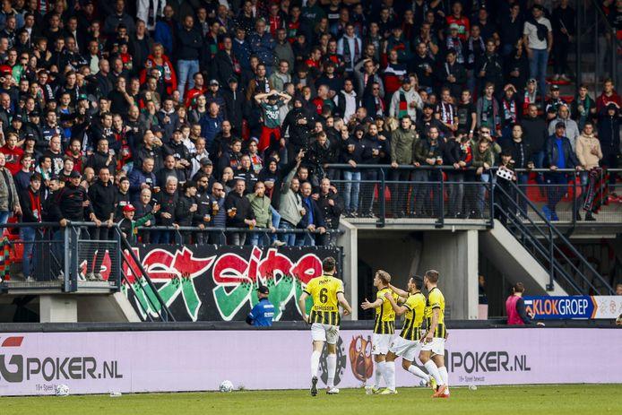 Debatable goal decidedly heated Gelderland derby |  Eredivisie