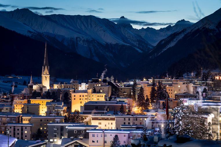 Davos. Beeld EPA