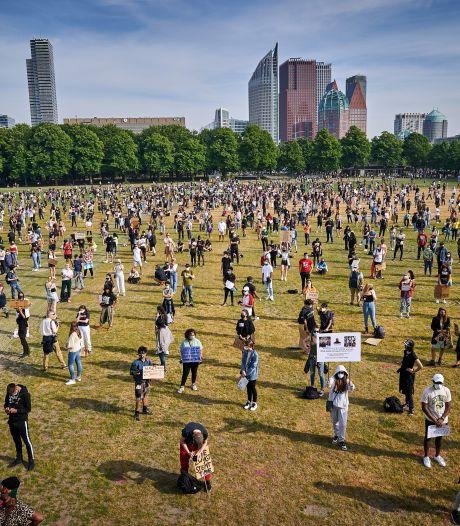 Kijk terug   Black Lives Matter-demonstratie verliep 'rustig, ordelijk en in goede sfeer'