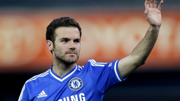 De 25-jarige offensieve middenvelder, Juan Mata, speelde sinds 2011 voor Chelsea.