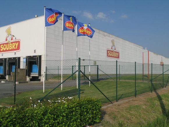 Soubry heeft aan haar productievestiging in Roeselare  een eigen voorraad afgewerkte producten.