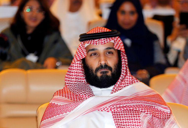 De Saoedische kroonprins Mohammad bin Salman. Beeld REUTERS