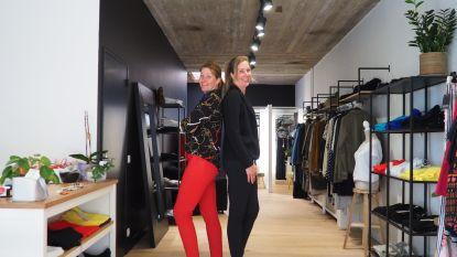 """Tweelingzussen openen boetiek voor vrouwen die groter zijn dan 1.80 meter: """"Er zijn winkels voor kleine en zware vrouwen, maar niet voor grote"""""""