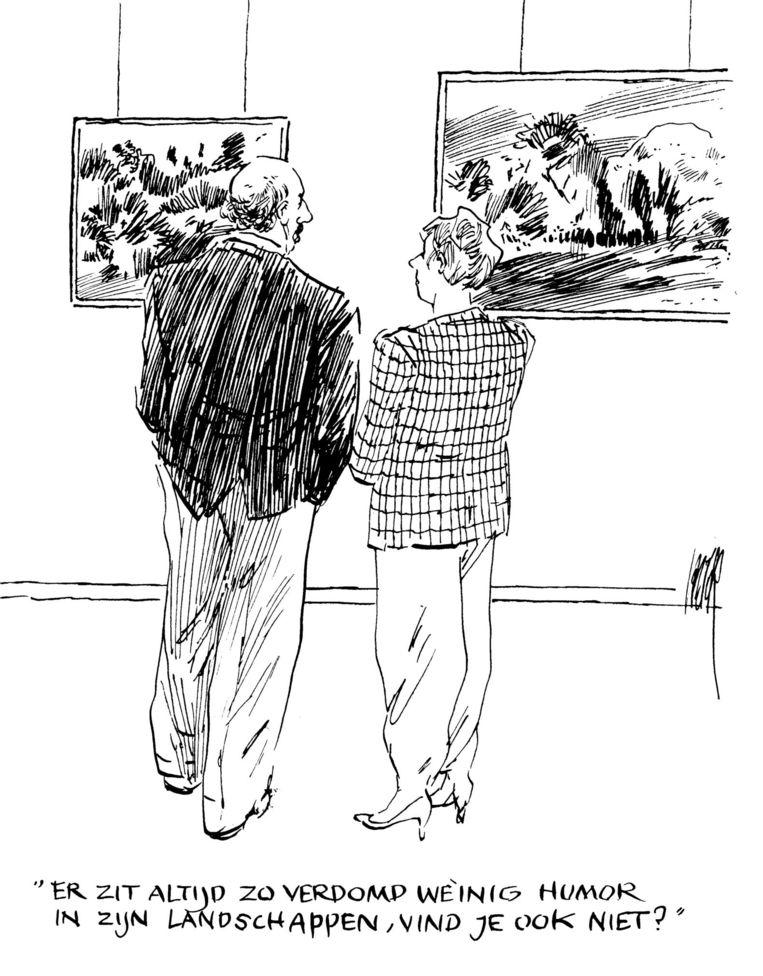Uit de serie 'Dagelijks leven' voor Het Parool. Beeld Peter van Straaten