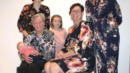 Dubbel viergeslacht in familie schepen Linda Detailleur