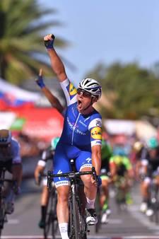 Yves Lampaert wint rit en pakt leiderstrui