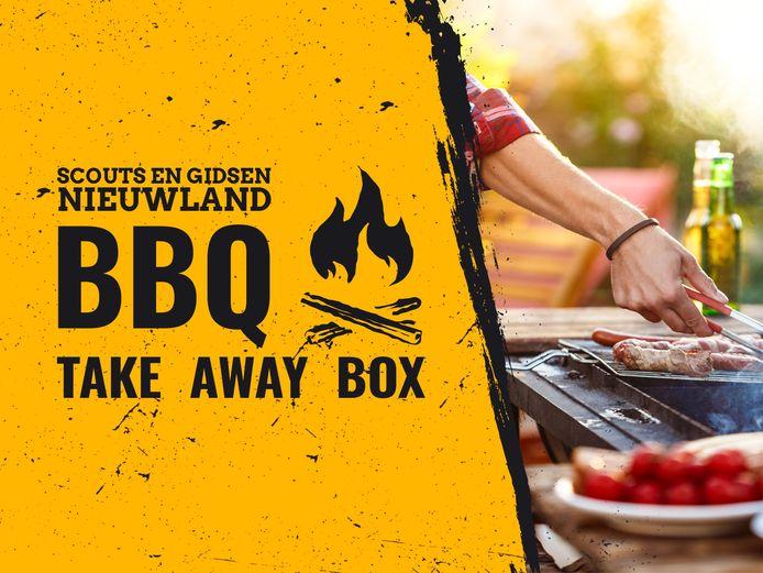 Scouts en Gidsen Nieuwland levert barbecueboxen.