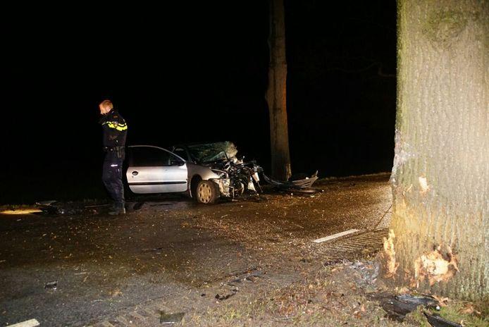 2 gewonden bij ongeval Rechterensedijk Dalfsen.