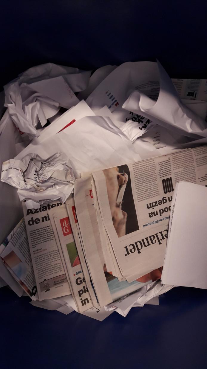 Oudpapier.