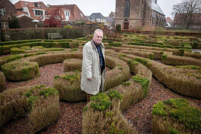 De tuinen van Marxveld in Vollenhove blijven op slot. Voor eigenaar André Hammer is het klaar.