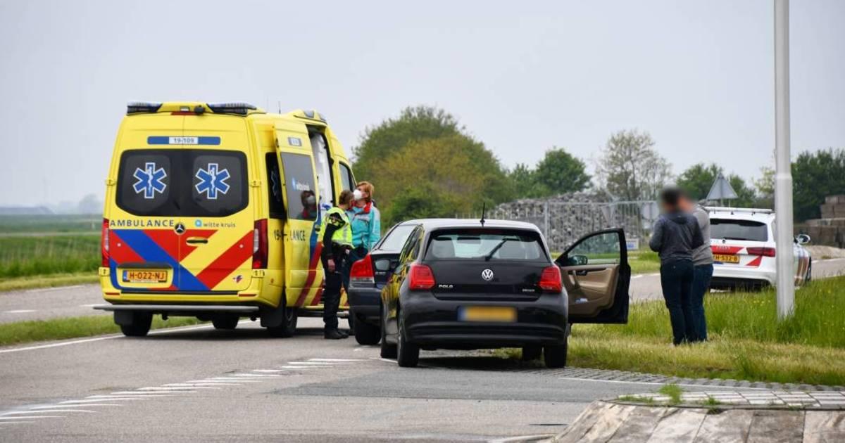 Gewonde bij botsing tussen twee autos in Kortgene.