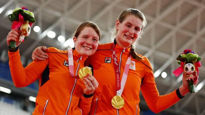 Baanrenners Klaassen en Brommer pakken goud op Paralympische Spelen