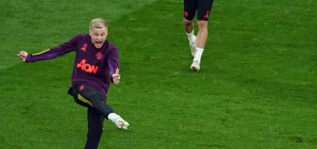 Solskjaer negeert Donny van de Beek in verloren finale: 'Het was lastig om deze spelers te wisselen'