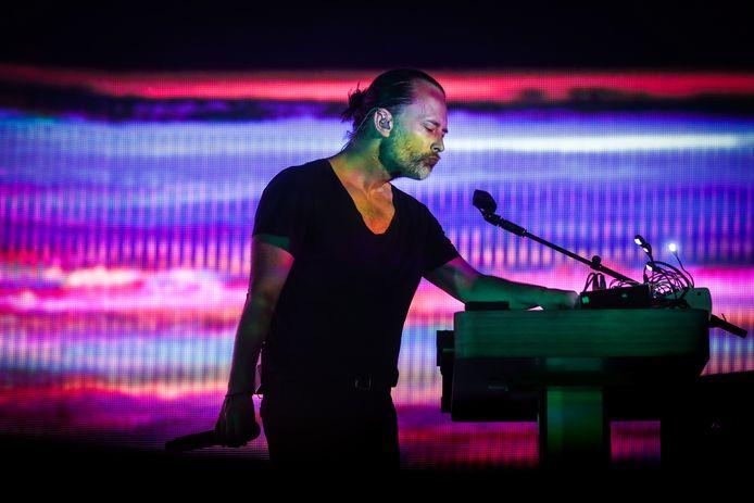Thom Yorke, voorman van Radiohead.