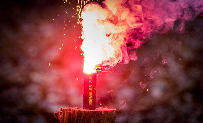 'Het grootste probleem van het vuurwerkverbod is de handhaving ervan.' Foto ter illustratie.