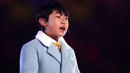 Zangertje (11) slotceremonie veroverde eerder al Koreaanse harten