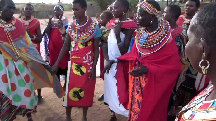 Umoja in Kenia is een dorp waar enkel vrouwen en kinderen welkom zijn.