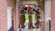 Twee soldaten van de Royal Fusiliers begraven op Irish Farm Cemetery