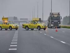 Zwaargewonde bij ongeluk op A16 bij Breda, weg uur dicht geweest