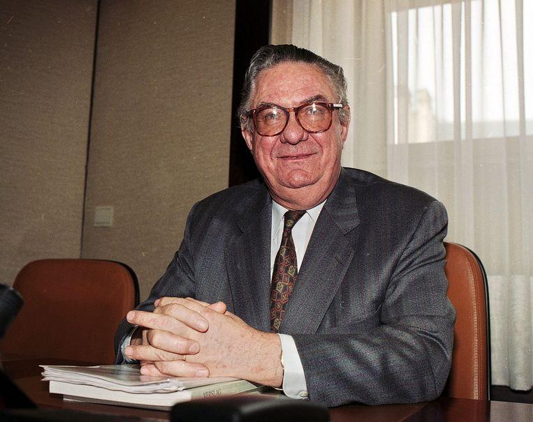 Verplaetse in 1996 in de Kamer. Beeld BELGA